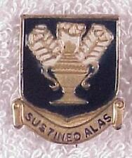 Army DI pin - AAF Technical Training Command - pb, nhm, stamped & painted