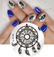 BORN PRETTY 04 Dreamcatcher Design Round Nail Art Stamping Image Plates Template