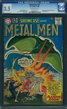 SHOWCASE #37 CGC 3.5 1st Metal Men! 1962
