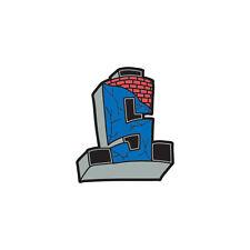 Suicidal Tendencies Enamel Pin Cross Logo Color - Skull skate rock new sk8