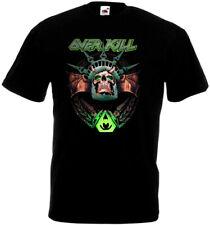 OVERKILL poster 3 T-shirt black thrash heavy metal all sizes S...5XL