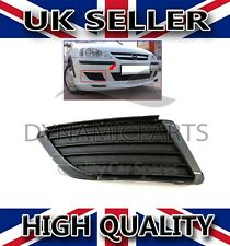 VAUXHALL CORSA C FRONT BUMPER FOG LIGHT GRILL COVER RIGHT DRIVER SIDE 2003-2006