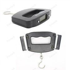 Digital Portable Electronic Luggage Weight Hanging Scale LCD Display 10g-50kg