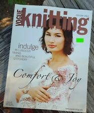 Christmas! Rare Knitting Magazine: Vogue Knitting (Holiday 2003) (last one)!