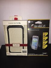 NEW Case-Mate Hula Bumper for Samsung Galaxy S 5 Active + zagg full body shield