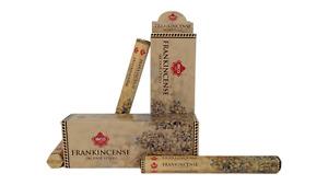 IBCO Frankincense Hexa Incense Sticks, 20 Sticks per pack (6 packs) = 120 sticks