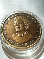 Eastern Kentucky Piano Competition Dorothy G Marsh Music Award Challenge Coin