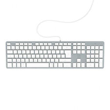 Mobility Lab - Clavier filaire USB AZERTY Design Touch Mac ML300368 - Blanc