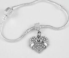 Oma Bracelet Oma Gift OMA Bangle OMA Present Oma charm Oma Jewelry  best gift