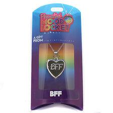 Personalised Mood Locket Necklace - BFF