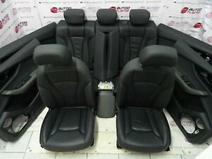 Audi Q8 4M8 Sitze Lederausstattun 4 x Türverkleidung Leder Schwarz Leather Seats