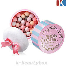 MAKEUP BLUSHER Show Case Ball On Cheek 12g 01. Bebe Pink / Korean Cosmetics