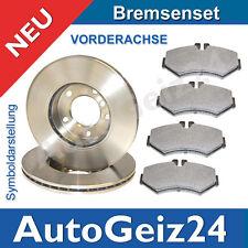BREMSSCHEIBEN+BREMSBELÄGE VORNE FORD FOCUS 2 II +  BJ 04-11 + C-MAX 2003-2007