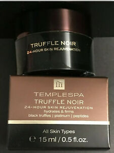 Temple Spa Truffle Noir Moisturiser 15ml All Skin Types New Boxed RRP £30.00