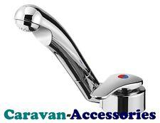 Caravan Single Lever Mixer Hot&Cold Tap Reich Keramik Twist Microswitched Chrome