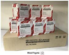 Genuine Toyota Oil Filter 90915YZZD2 - 10 PACK -  Prado - Camry - Hiace - Hilux