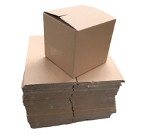 Pack of 50 Cardboard Packing Postal Shipping Boxes 8x8x8 Inch / 20x20x20cm