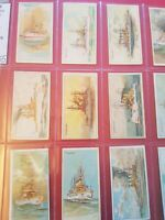 United States Warships (1911) Wills Cigarette Cards - Australia (Capstan) Issue