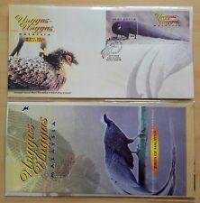 2000 Malaysia Birds Unggas, Mini-Sheet Stamp FDC (Kuala Lumpur Cachet)