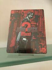 JOHN WICK CAPITOLO 2 ED.SPECIALE STEELBOOK BLU RAY+OMAGGIO!
