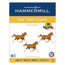 Hammermill Fore MP Multipurpose Paper 96 Brightness 24lb 8-1/2 x 11 5000/Carton