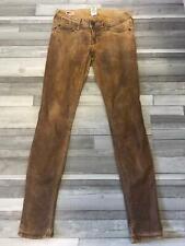 Original True Religion Jeans Stella Skinny 28 used Look Hose Braun Bronze