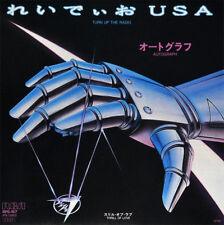 "AUTOGRAPH - TURN UP THE RADIO, ORG 1985 JAPAN PROMO 7"" vinyl SINGLE, MINT-!"