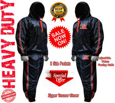 SAUNA Sweat TRACK Suit WEIGHT LOSS Slimming FITNESS Boxing GYM Exercise TRAINING