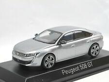 Norev 475822 - 2018 Peugeot 508 GT - Artense Grey - Modellauto 1/43