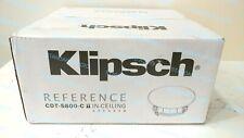 Klipsch CDT-5800-C II In-Ceiling Pivoting Speaker - Each. Factory-Sealed Box