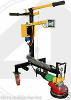 Concrete Grinder Pro Series and Polisher Grind Concrete, Thinset, Stone Etc