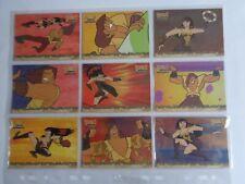 "Xena & Hercules Animated - ""Hercules & Xena In Action"" 9 Card Chase Set  HX1-9"