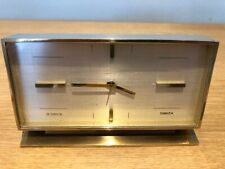 VINTAGE SWIZA 8 Day Mantle/DA TAVOLO OROLOGIO-SWISS MADE -