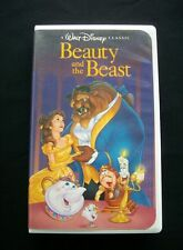 Disney Beauty and the Beast Black Diamond Classic on VHS