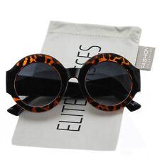 2018 NEW Oversized Round Luxury Sunglasses Gradient Lens Vintage Women Fashion