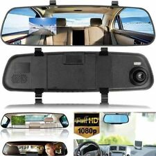 HD 1080P Vehicle Rearview Mirror Dash Camera DVR Cam Video Recorder G-sensor New