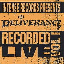 Recorded Live, Vol. 1 by Deliverance (Christian Metal) (CD, Jan-1993, Intense...