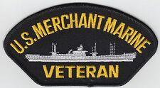 Merchant Marine Veteran Patch Iron On