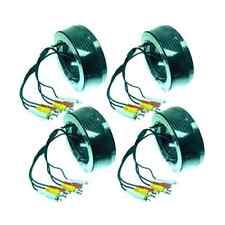 4 x 15M CCTV Video Audio Cameras Cable BNC+Power+RCA 45FT