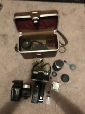 Canon AE-1 Program 35mm COMES WITH THREE LENSES + ACCESSORIES