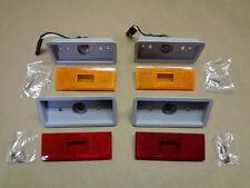 Side Marker Set Front And Rear Lenses And Housings Mopar 70 RoadRunner GTX