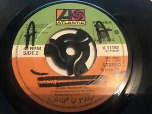 "Boney M - Rasputin 7"" Vinyl Single Record  Mispressed"