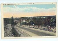 Lackawanna Trial Highway near TOBYHANNA PA Mercer County Pennsylvania Postcard