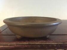 Antique Chinese Nakawatari Era Accent Or Mame Size Bonsai Tree Pot, Great Piece!