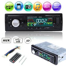 Car In-Dash Stereo Radio MP3 Player Audio FM Receiver USB SD AUX Remote Control