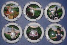 """lot de 6 capsules de champagne  génériques """"Famille Brut Nature"""" n°1118 à 1118e"""