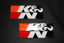 K&N KN K e n Adesivo Decalcomania Logo Filtro Aria Messa punto Racing GRANDE