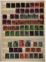 Briefmarkensammlung ab 1945 Gemeinschaftsausgaben und französische Zonen