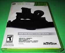 DJ Hero 2 Microsoft Xbox 360 *New-Sealed-Free Shipping!