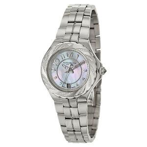 TechnoMarine Watch Sea Pearl Diamond Bezel Mother Of Pearl 713004 NEW! 30708